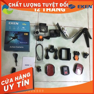 [SaleOff] Camera hành trình EKEN H6S tặng 1 pin zin, 1 sạc đôi, bảo hành 12 tháng, hỗ trợ đổi trả 1vs1, camera hành động