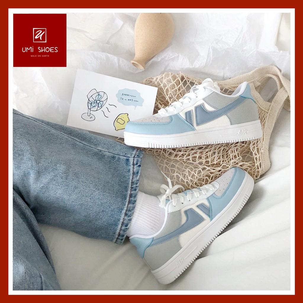[MỚI] Giày thể thao thấp cổ buộc dây đơn giản cá tính mẫu mới năng động phong cách ulzzang mã SD02 đế bằng cao 4cm đẹp
