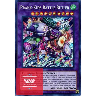 THẺ BÀI YUGIOH Prank-Kids Battle Butler