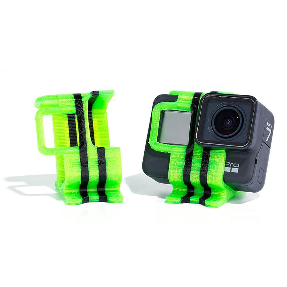 【High Quality】iFlight TPU 25° Camera Mount Holder Seat Protective Case for Gopro Hero 5/6/7 FPV