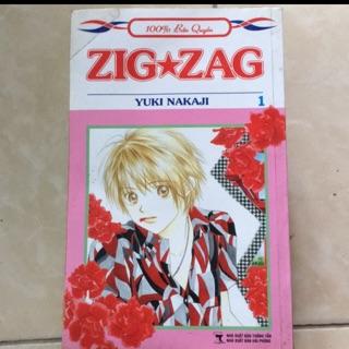 Manga shoujo Zig Zag