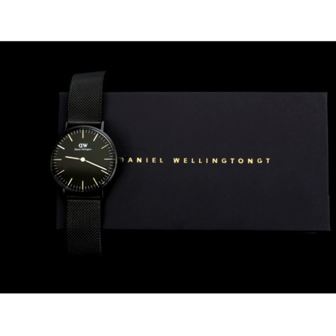 【Daniel Wellington】DW นาฬิกาแบรนด์เนม แท้100% สำหรับผู้หญิง - RoseGold U-019 Lovers Watch