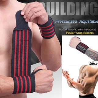 Đai quấn cổ tay tập gym . Bảo vệ cổ tay khỏi bị chấn thương ,thấm mồ hôi ,thoáng mát,tự tin khi chơi thể thao thumbnail