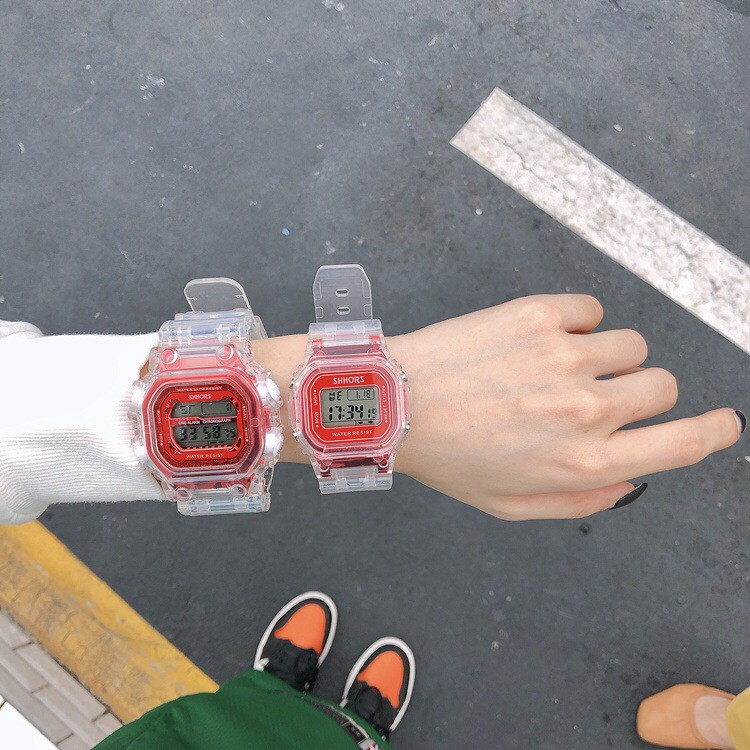 Đồng hồ thể thao điện tử nam nữ Shhors S899