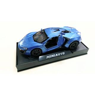 Đồ chơi xe mô hình kim loại tỷ lệ 1:32 (3201-3)