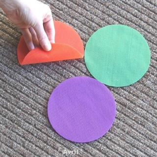 6 Colors Children Game Floor Kindergarten Round Sitting Sports Toys Spot Markers