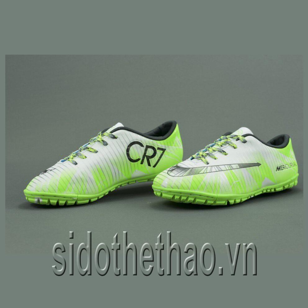 Giầy đá banh sân cỏ nhân tạo đinh nhỏ CR7 màu xanh dạ quang 2018 - 3026751 , 787484546 , 322_787484546 , 220000 , Giay-da-banh-san-co-nhan-tao-dinh-nho-CR7-mau-xanh-da-quang-2018-322_787484546 , shopee.vn , Giầy đá banh sân cỏ nhân tạo đinh nhỏ CR7 màu xanh dạ quang 2018