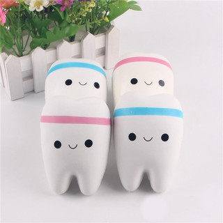 Đồ chơi bóp nén hình hàm răng mặt cười dễ thương cho bé