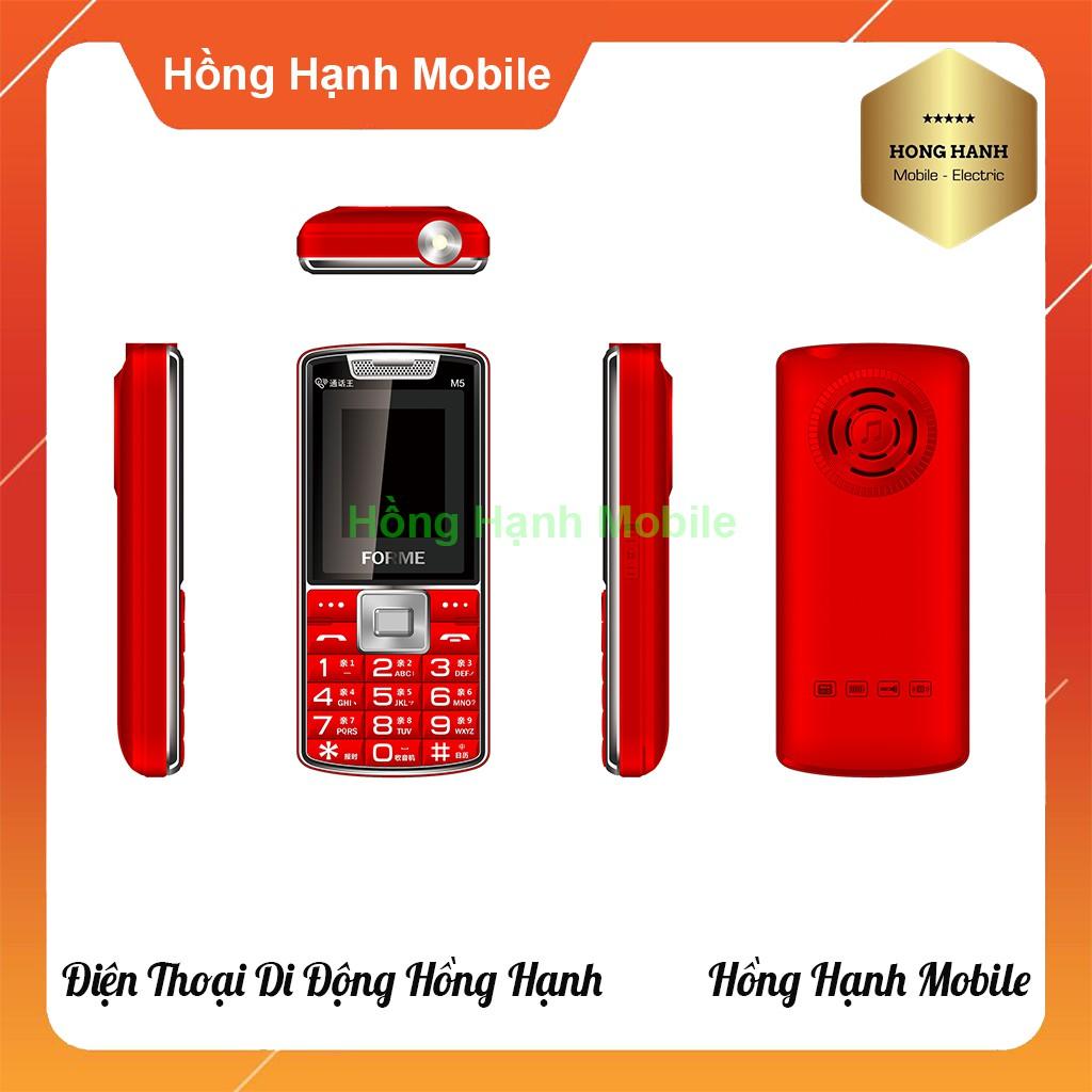 Điện Thoại Forme M5 - Hàng Chính Hãng - Hồng Hạnh Mobile