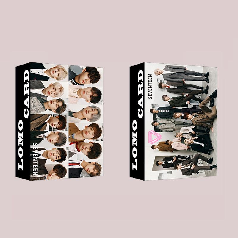 Thẻ Hình Lomo Nhóm Nhạc Exo Got7 Seventeen