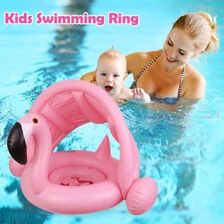 ★Lp★Swimming Ring Baby Inflatable Pool Float Cartoon Seat Ring Kids Pool Toys