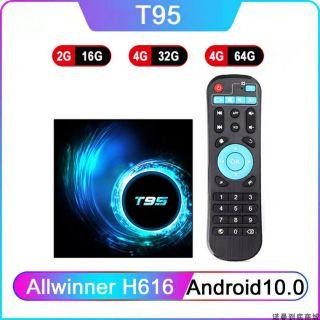 Androi TV Box T95 Phiên Bản Androi 10 Ram 4G Bộ Nhớ Trong 32G