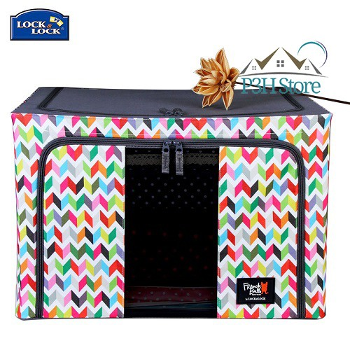 Hộp vải Living Box Lock&Lock dòng French Bull Ziggy