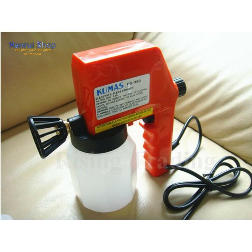 Máy phun sơn Cầm Tay điện 220v KuMas hàng cao cấp - 3173656 , 1001788088 , 322_1001788088 , 419000 , May-phun-son-Cam-Tay-dien-220v-KuMas-hang-cao-cap-322_1001788088 , shopee.vn , Máy phun sơn Cầm Tay điện 220v KuMas hàng cao cấp