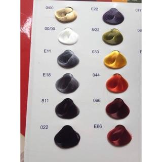 Nhuộm thời trang Everflor 54 màu (trừ 00/00)