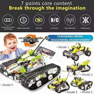 Lego Lắp Ráp Xe 5 in 1 – 402 Mảnh ( Có motor , remote điều khiển )