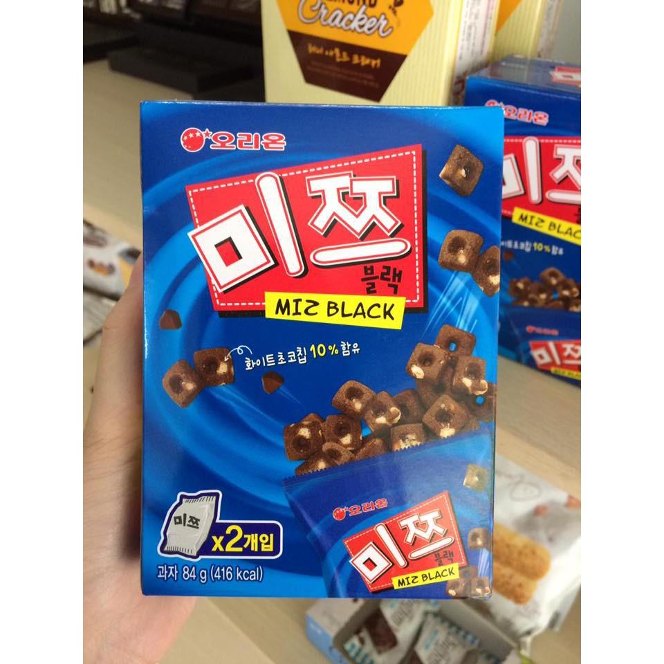 Bánh sô cô la giòn Miz Black ORION