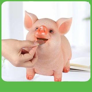 [GIÁ SỈ] Lợn Heo Tiết Kiệm Đút Tiền 3D Cao Cấp(Sứ)