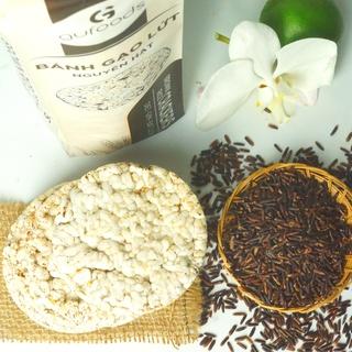 Hình ảnh Bánh gạo lứt ăn kiêng GUfoods (510g = 54 bánh) - Các vị Yến mạch, Huyết rồng, Tím than, Mix 3 vị, Hạt chia và Hạt quinoa-6