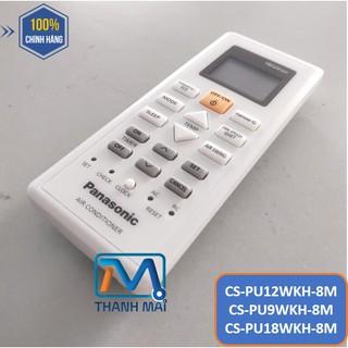 [REMOTE CHÍNH HÃNG] Điều Khiển Máy lạnh Panasonic CS-PU12WKH-8M//PU9WKH-8M//PU18WKH-8M