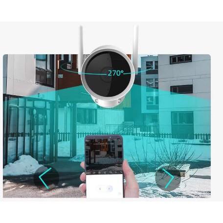 Camera ngoài trời Xiaomi Xiaobai N1 xoay 270 độ | BH 3 THÁNG