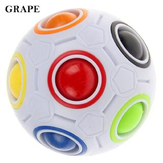 Kids Toy Spherical Ball Puzzle ABS Educational Toy Kids Rainbow Ball Delicate