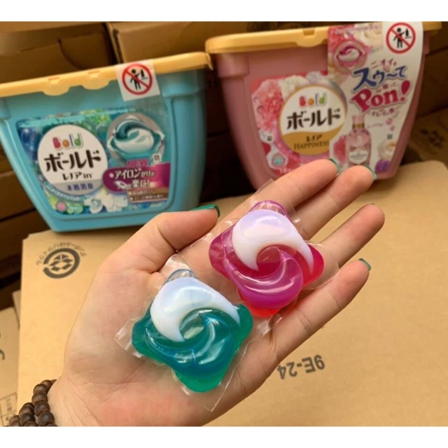 Viên giặt Gelball 3D Nhật Bản