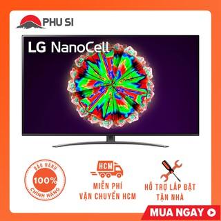 [Mã ELMSHX03 hoàn 6% xu đơn 2TR] [GIAO HCM] Smart Tivi NanoCell LG 4K 55 inch 55NANO81TNA thumbnail