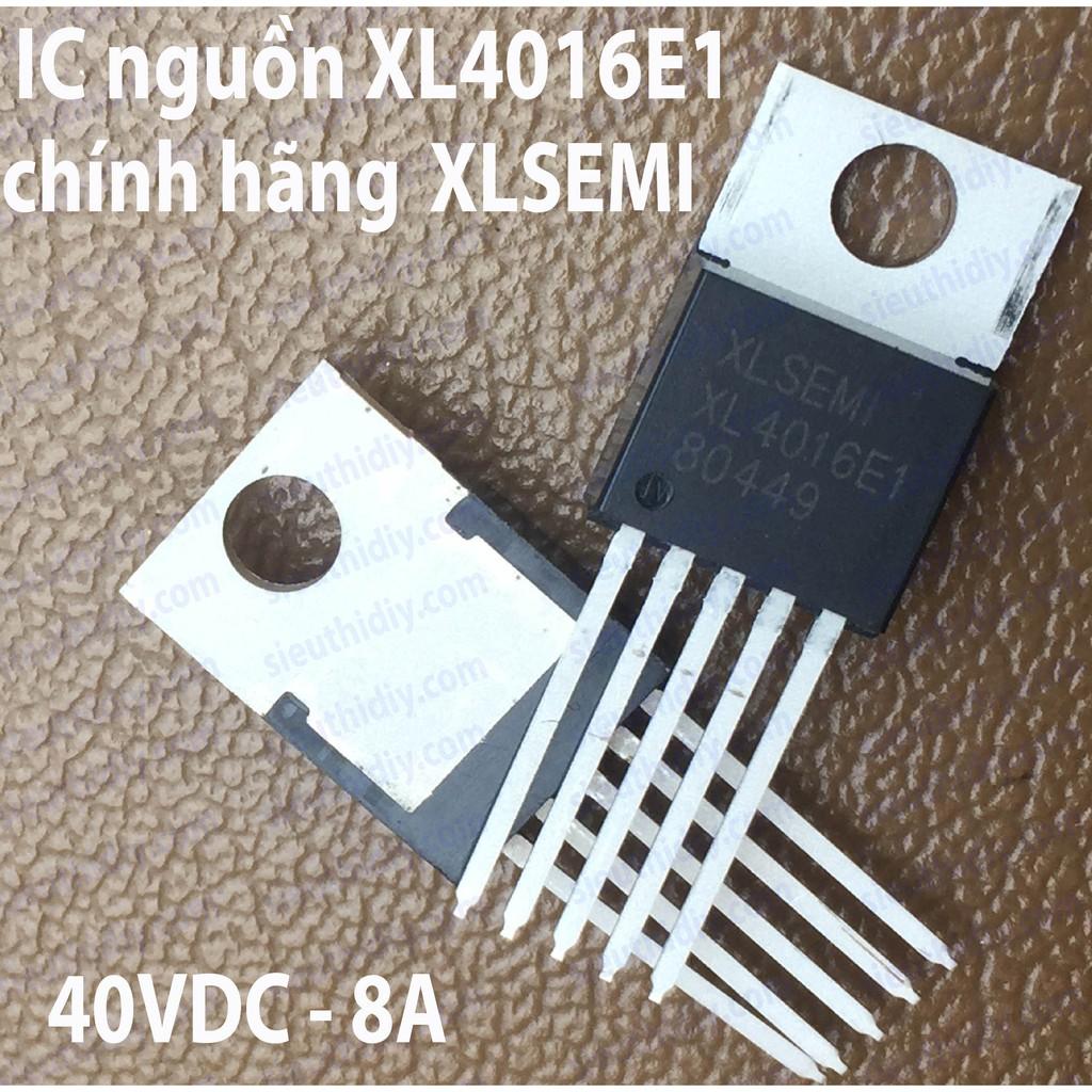 IC nguồn XL4016E1 8A 180KHz 40V Buck DC to DC chính hãng XLSEMI