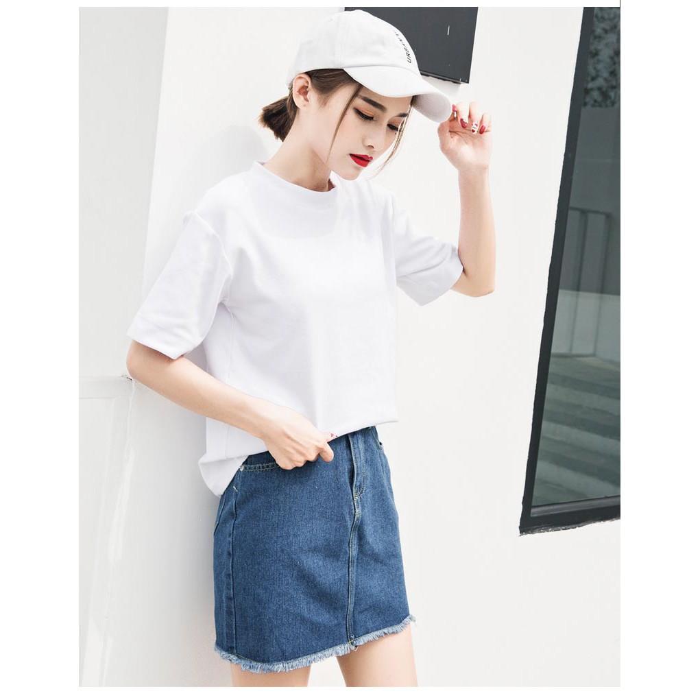 áo phông nữ chất cotton - chuẩn màu