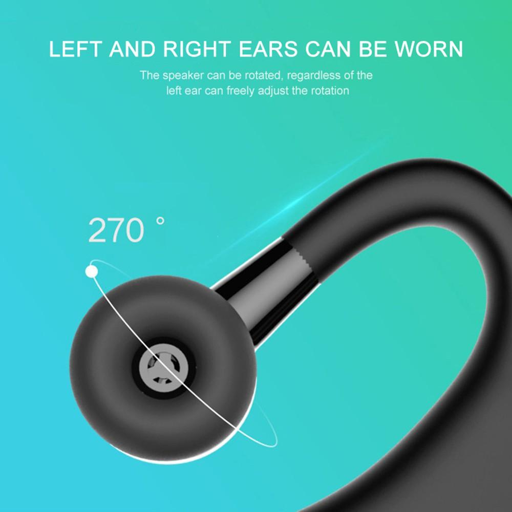Tai nghe không dây kết nối Bluetooth thể thao V9 cách âm hiệu quả kèm phụ kiện