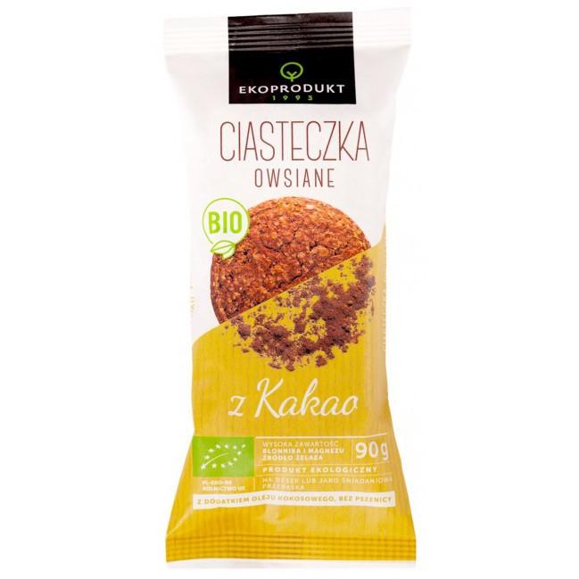 Bánh yến mạch cacao hữu cơ Ekoprodukt 90g
