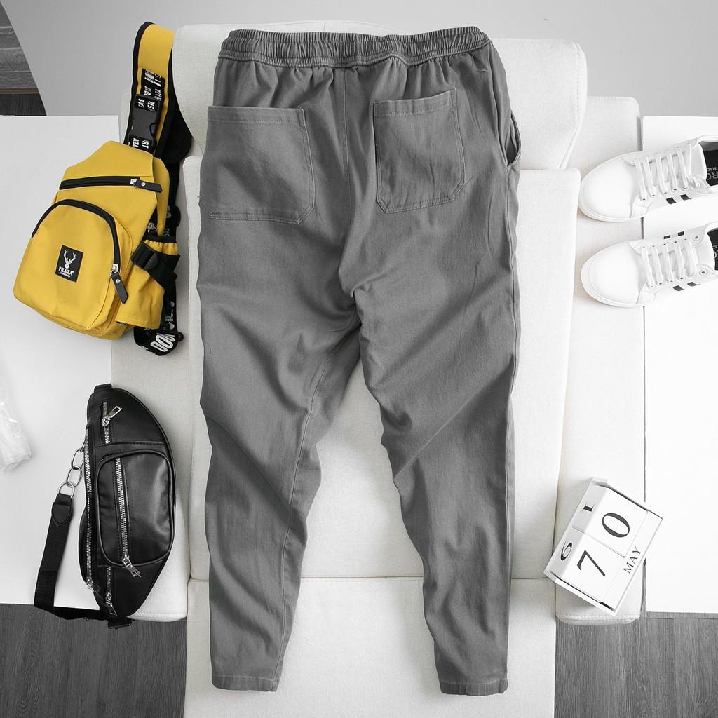 Quần Baggy kaki co giãn Form rộng (50kg - 95kg)