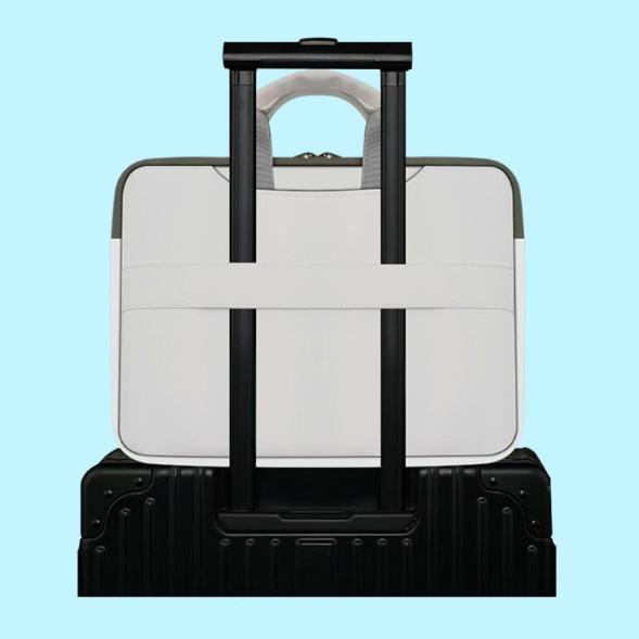 Cặp đựng laptop macbook chống sốc tuyệt đối có đai gài hành lý ANIMATE001 | SaleOff247