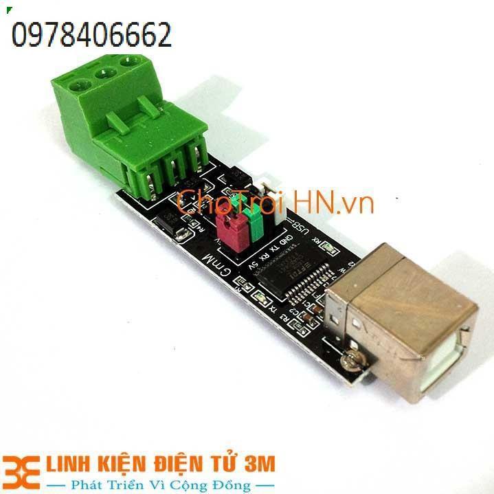 USB TO TTL/RS485 FT232 CÓ BẢO VỆ Giá chỉ 239.000₫