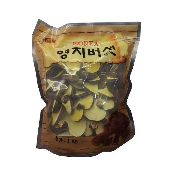 Nấm linh chi bao tử Hàn Quốc, túi 1kg Nấm linh chi bao tử Hàn Quốc, túi 1kg