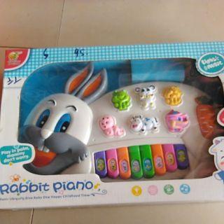 Đàn piano hình Thỏ-RABBIT PIANO