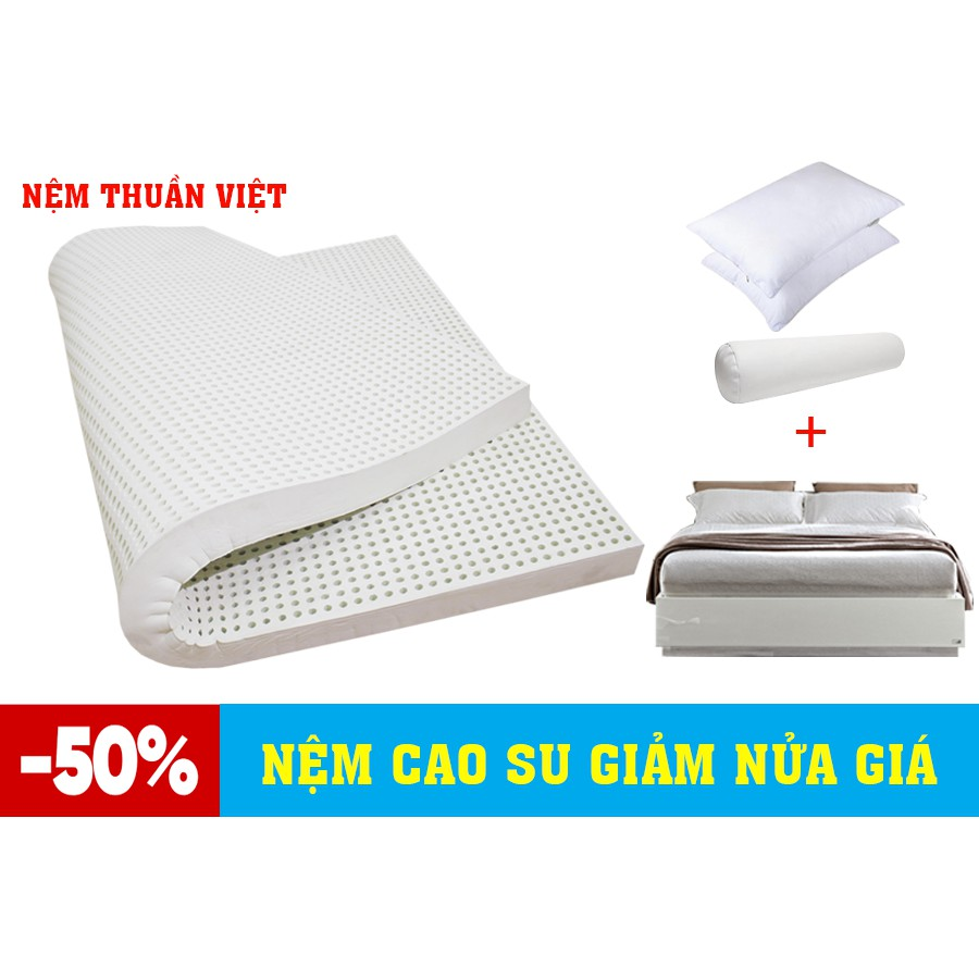 Nệm Cao Su Thuần Việt Classic (160 x 200 x 10cm)