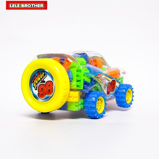 Hình ảnh Đồ chơi Lắp Ráp Xe Đua Siêu Tốc Độ Super Power Racing Car Lele Brother (8139-3)-2