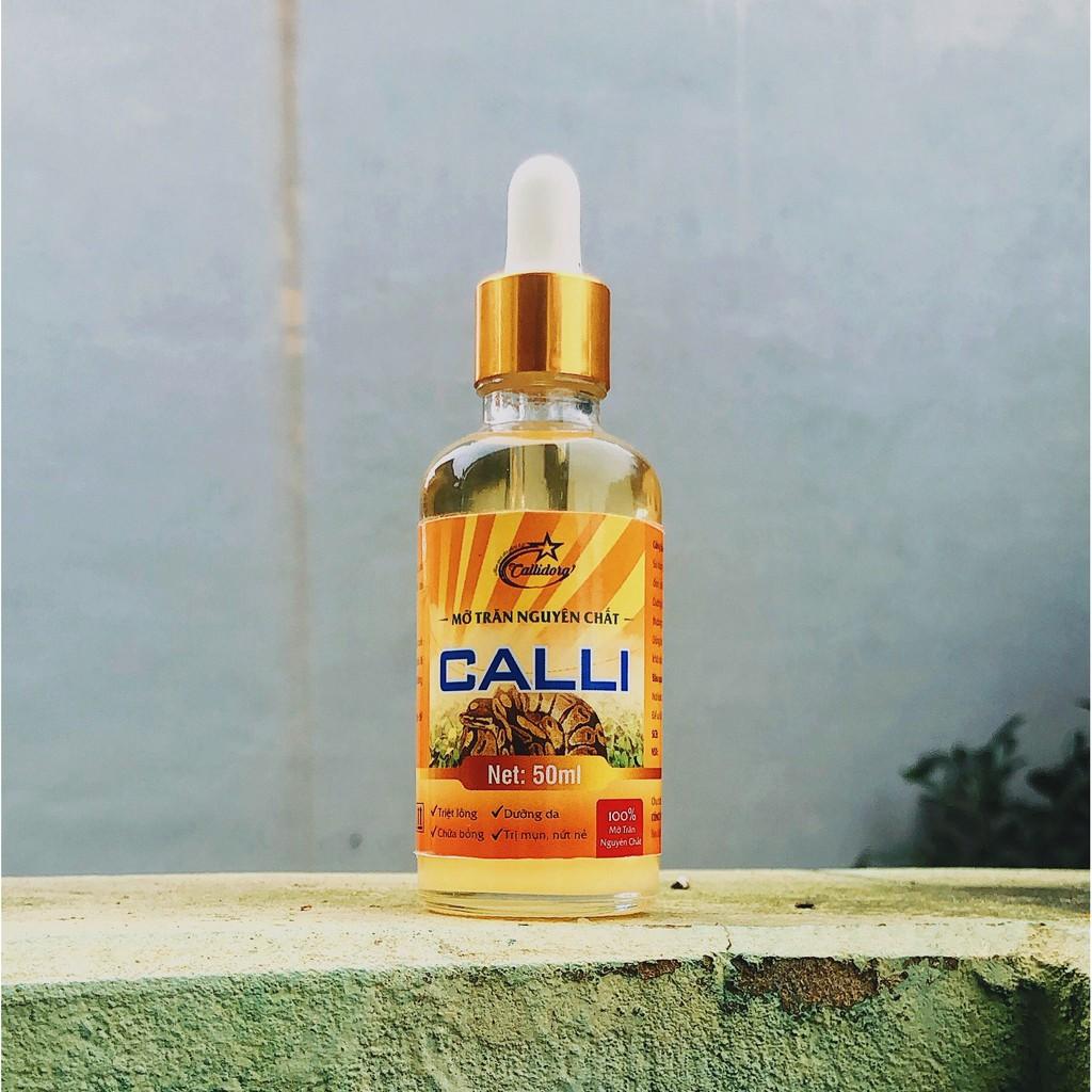 Mỡ trăn nguyên chất 😍FREESHIP😍 Mỡ trăn nguyên chất triệt lông vùng kín nách chân tay vĩnh viễn Calli Honey 50ml - MTC
