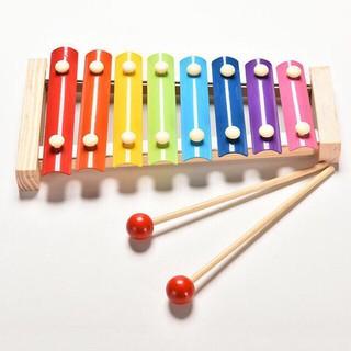 Đồ chơi Đàn Piano Xylophone gỗ 8 thanh quãng – Đồ chơi âm nhạc cho bé