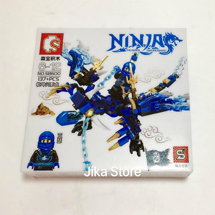 Combo 4 Bộ đồ chơi Lego xếp hình Ninja sấm sét- Bộ xếp hình lắp ráp- bộ lego Jika Store