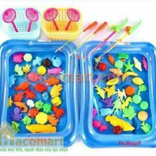 Bộ đồ chơi bể câu cá cho bé