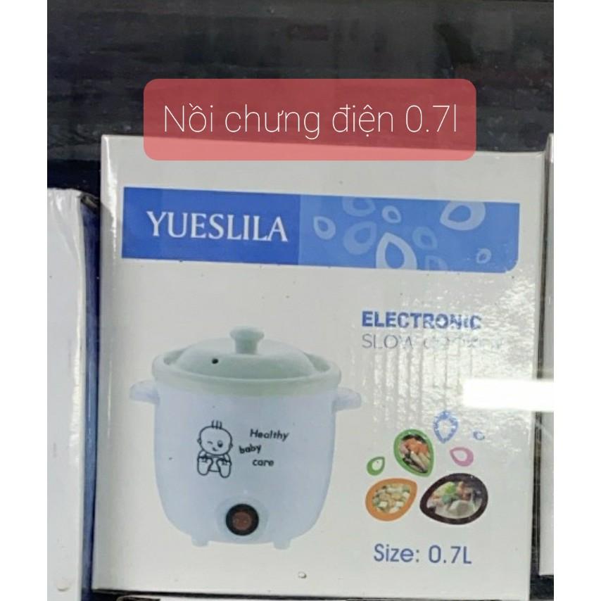 Nồi chưng yến, hầm, nấu cháo bằng điện 0.7l