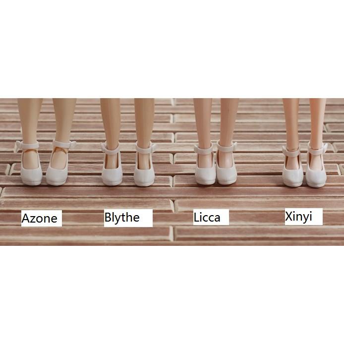 [Nhập mã TOYMAY15 giảm 15K] Giày chính hãng cho Xinyi, Licca, Azone, Blythe