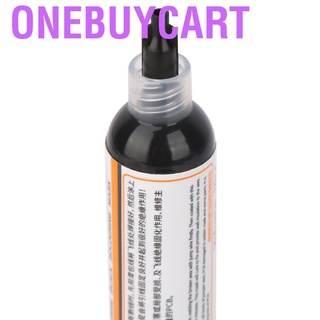 Onebuycart 【Made in Italy 】2Pcs UV Light Curing Solder Resist Ink BGA PCB Black + Green