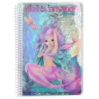 TM410472 BST sticker thiết kế thời trang Fantasy Model Sticker Book MERMAID