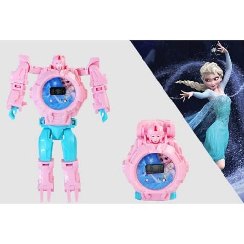 Đồng hồ robot biến hình-Đồng hồ siêu nhân dành cho Bé Trai/ Bé Gái