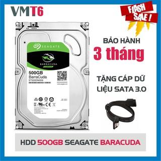 Ổ cứng HDD Seagate 500GBBaracura - Bảo hành chính hãng 3 tháng !