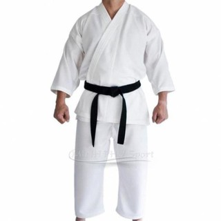 Bộ võ phục Karatedo vải dày đủ size theo chiều cao